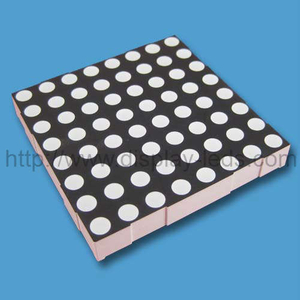 2.3 Inch 8x8 RGB (penuh warna) tampilan LED Dot Matrix