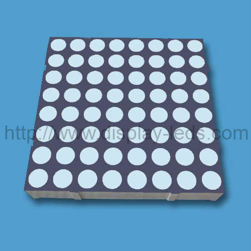 2 inci 8x8 LED Dot Matrix