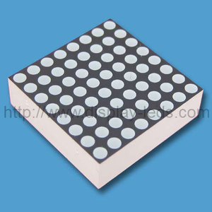 0,7 inci 8x8 LED Dot Matrix