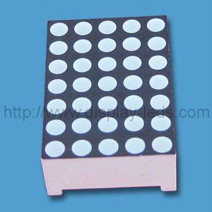 0,7 inci 5x7 LED Dot Matrix